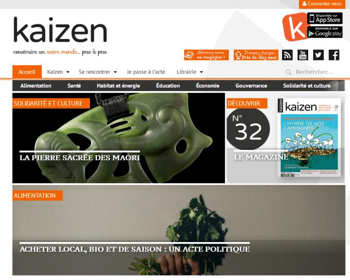 kaizen magazine alternatif positif indepndant bonne nouvelle.png