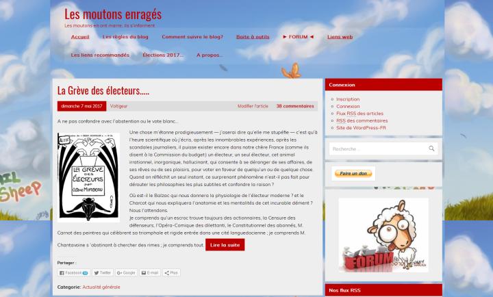 les moutons enrages bonne nouvelle site web alternatif