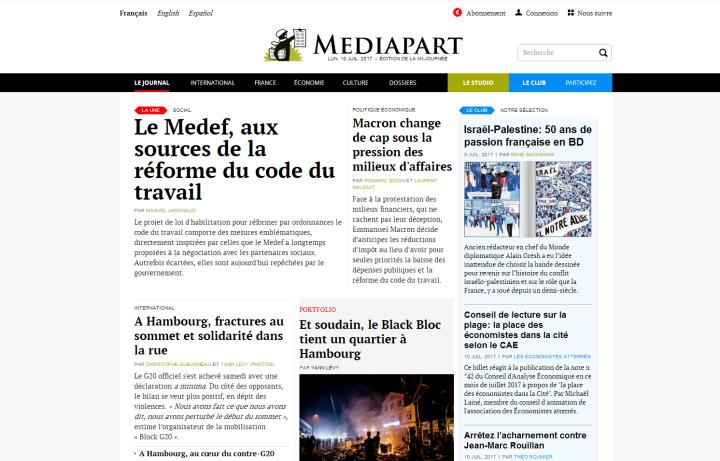mediapart media independant bonne nouvelle