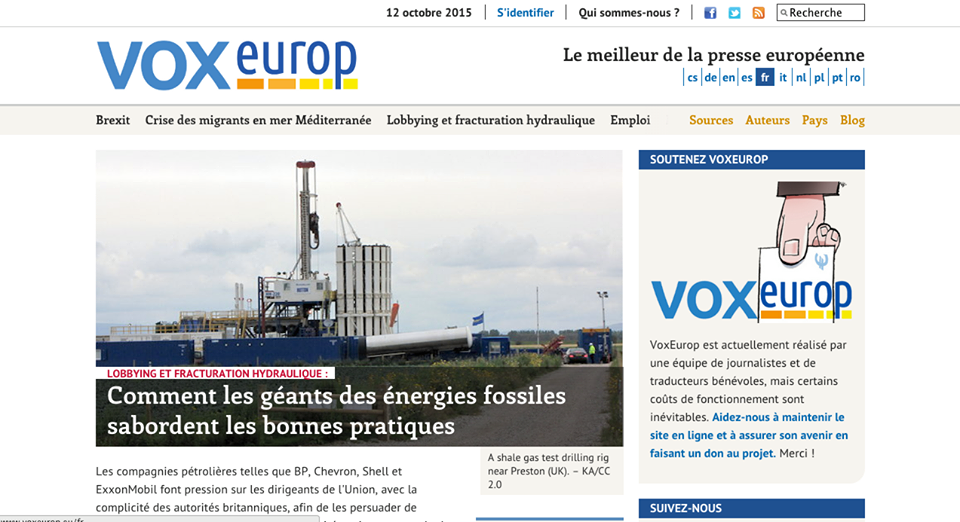 vox europe bonnesnouvelles