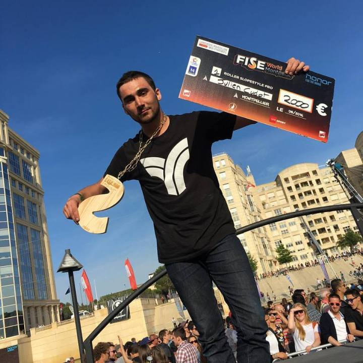 julien-cudot-first-place-fise-slopestyle-montpellier-pro-2016-triggerskate